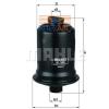 MAHLE ORIGINAL (KNECHT) MAHLE ORIGINAL KL508 üzemanyagszűrő
