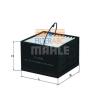 MAHLE ORIGINAL (KNECHT) MAHLE ORIGINAL KX336 üzemanyagszűrő