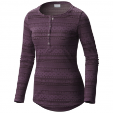 Columbia Aspen Lodge Jacquard Henley Hosszú ujjú póló D (1684291-p_500-Dusty Purple)