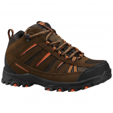 Columbia Youth Pisgah Peak Mid Waterproof Túracipő D (1650251-p_255-Mud)