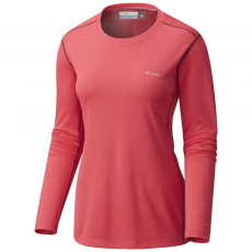 Columbia Midweight II Long Sleeve Top D (1560631-p_637-Punch Pink)