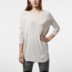 O'Neill LW Revive Long Sleeve Top T-shirt,top D (O-657104-p_1049-Silver White)