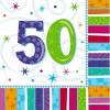 Szalvéta évszámos 16 db-os 50, 60 éves (60-as)