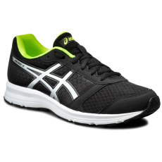 Asics Félcipő ASICS - Patriot 8 T619N Black/Silver/Safety Yellow 9993