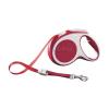 Flexi Vario szalagos póráz M, 5m, piros