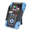 """EuroVideo EVM-3,5LCD-SFT 3,5""""-os teszt monitor PoE teszterrel, kábelvizsgálóval, digitális multiméterrel"""