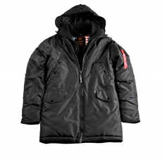 Alpha Industries N3-B PM - fekete