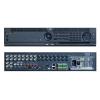 EuroVideo EVD-08IP16A8RTDH 8+8 IP csatornás H.264 asztali DVR,8 hang BE,25 fps/D1 max felbontás,16/4 alarm I/O, 8x4 TB SATA HDD