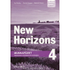 Oxford University Press Paul Radley - Daniela Simons - Kelemen Ferenc: New Horizons 4 Munkafüzet
