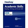 Oxford University Press Sarah Philpot: Headway Academic Skills Reading, Writing and Study Skills Level 2 Teacher's Guide with Test CD-ROM