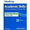 Oxford University Press Sarah Philpot - Lesley Curnick: New Headway Academic Skills Listening,Speaking and Study Skills Teacher's Guide - Introductory Level