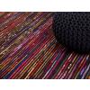 Beliani Színes-fekete szonyeg - 80x150 cm - Pamut - BARTIN