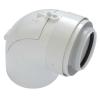 Tricox PAEKÖ60C ellenőrző könyök PPs/Alu 80/125mm