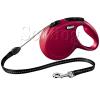 Flexi Classic zsinóros póráz S, 5m, piros