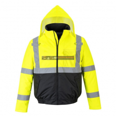 Portwest S363 Hi-Vis Value Bomber kabát