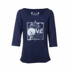Fundango Longsleeve T Logo 34 T-shirt,top D (2TP10434_483-purple velvet heather)