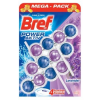 BREF Power Aktiv Lavanda WC illatosító, 3x50 g (9000100956192)