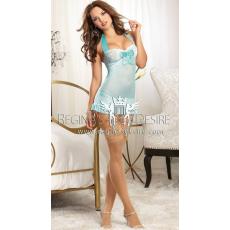 Regina's Desire Kék Szépség Harisnyakötővel