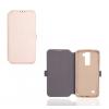 Samsung Galaxy S6 SM-G920, Oldalra nyíló tok, CoverGel, arany