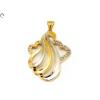 Köves bicolor fantázia arany medál