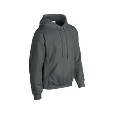 GILDAN bélelt kapucnis pulóver, faszén szürke