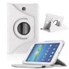 Samsung Galaxy Tab 4 7.0 SM-T230, mappa tok, elforgatható (360°), fehér