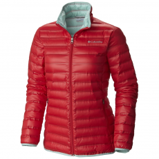 Columbia Flash Forward Down Jacket Utcai kabát,dzseki D (1639971-p_653-Red Camellia)