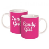 Ambition Candy Girl Happy porcelán bögre, 350 ml (5904134635556)