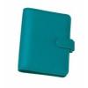 FILOFAX Kalendárium, gyűrűs, betétlapokkal, personal méret, FILOFAX Saffiano, aquamarine