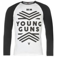 Official Official Official Young Guns raglán hosszú ujjú póló férfi