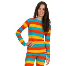 Woox Thermo póló Woox Bodyheat Stripy női