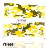 Akril hatású körömmatrica YB-669