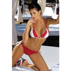 marko Bikini Amber Rosso Passione-Bianco M-260 piros-fehér