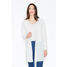 figl Kabát M441 fehér