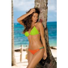 marko Bikini Elin Peacock-Smile-Granatina M-343 narancs-zöld