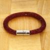Yiwu Chanfar Jewelry Factory Egysoros hálós kristály karkötő - bordó