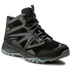 Merrell Bakancs MERRELL - Capra Bolt Leather Mid Wp J35803 Black