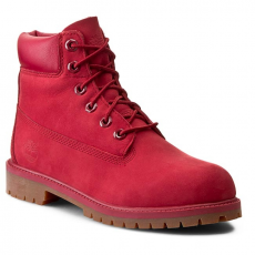 TIMBERLAND Bakancs TIMBERLAND - 6 In Premium Wp Boot A13HV Red