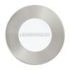 EGLO Süllyesztett Eglo 3W LED panel, kör, matt nikkel keret, 4000K természetes fehér - Fueva 1 - 95465