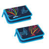 Starpak Pencil Case  closed  2 compartments  Butterfly 12/48 348761