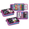MICKEY FRIENDS 3D Pencil Case with filling  2 compartments  Minnie 12/48 348672