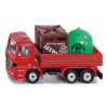 Siku series 08 truck with containers for waste 0828