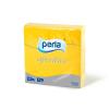 Perla Aperitivo szalvéta 50 db 24x24 cm, 3 rétegű (sárga)