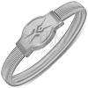Karkötő acélból - óra stílus, kígyó motívum, sztreccses