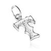 Medál 925 ezüstből - díszes T betű