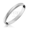 925 ezüst gyűrű - függőleges és átlós gravírozás