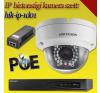 Hikvision 1 dome kamerás 1.3MP PoE IP szett - BŐVÍTHETŐ (hik-ip-1d01) megfigyelő kamera