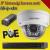 Hikvision 1 dome kamerás 1.3MP PoE IP szett - BŐVÍTHETŐ (hik-ip-1d01)