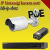Hikvision 1 bullet kamerás 2MP PoE IP szett - BŐVÍTHETŐ (hik-ip-1b02)