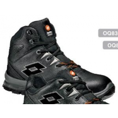 LOTTO WORKS LOTTO OQ8362 S3 Black sprint bakancs acél lábujjvédő